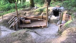 Zusammenfassung Bushcraft/ Waldcamp Baubeginn 17.05.2015