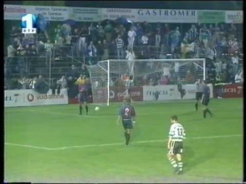 Barcelona - 3 x Sporting - 1 de 2001/2002 Particular