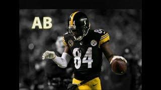 "Antonio Brown   ""Rockstar"" ᴴᴰ   2017-2018 Steelers Highlights"