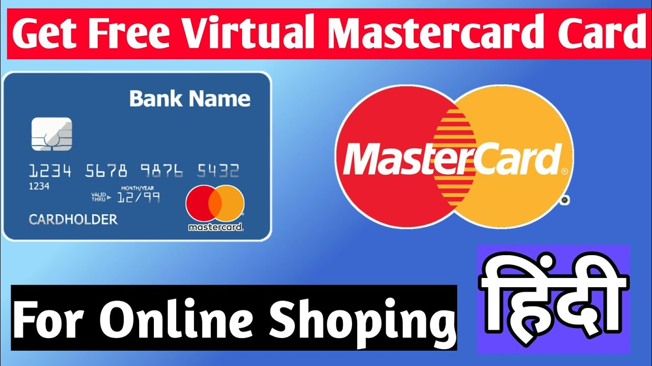 Get Free Virtual Mastercard without Bank account for Online