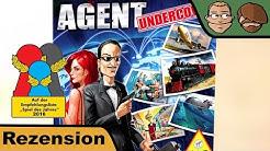 Agent Undercover - Brettspiel - Spiel - Review (Silvester Spezial)