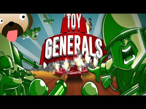 Green Plastic Toy Soldiers Strategy Game |New Army Men| Toy Generals Gameplay