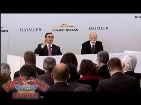 Renault-Nissan Daimler Press Conference Pt. 1