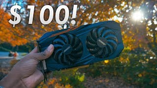 The Perfect $100 GPUs - Faster than the 1050 Ti! | OzTalksHW