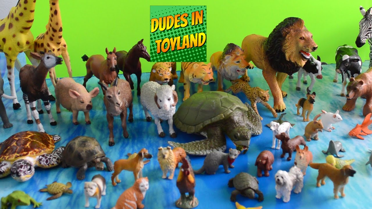 Image of: Plastic Farm Animal Toys Collection Zoo Animals For Children Toddlers Toy Videos Youtube Youtube Farm Animal Toys Collection Zoo Animals For Children Toddlers Toy