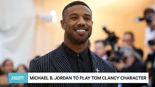 Michael B. Jordan to Play Tom Clancy Character in Film Series
