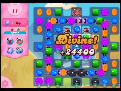 Candy Crush Saga Level 2875 - NO BOOSTERS (FREE2PLAY-VERSION)