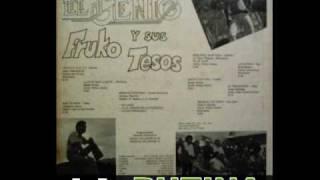 LA RUTINA-FRUKO Y SUS TESOS CANTA JOE ARROYO