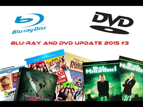 Blu-ray and DVD Update 2015 #3