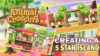 Creating A 5 Star Island! Museum Complex & Parks - Animal Crossing New Horizons Members Stream