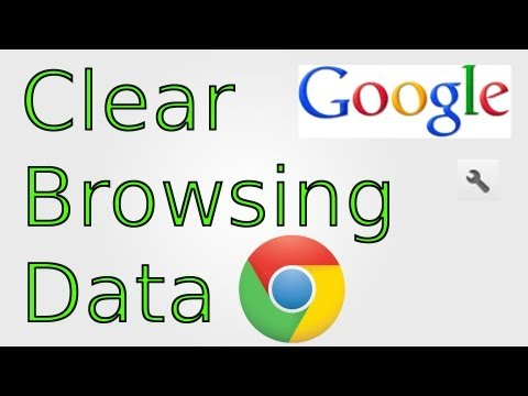 Google Chrome: How to Clear Browsing Data (History, Cache, Cookies, Temporary Files)