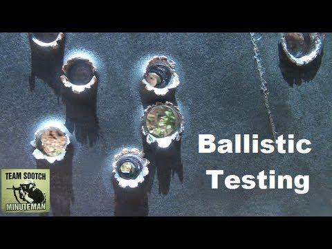 Ballistic Penetration Testing