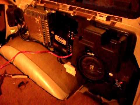 replacing factory subwoofer amp part 1 replacing factory subwoofer amp part 1