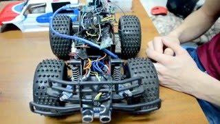 Usfika | Arduino | Машинка на радиоуправлении и элементарной автоматике