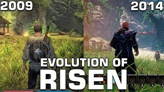 Evolution of Risen (2009-2014)