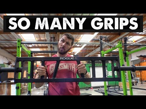 HOW TO USE A MULTI-GRIP BENCH PRESS BAR | SPECIALTY BAR SERIES EP. 3 | JAMES MOONEY