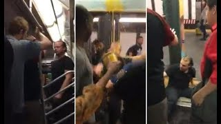 Princess Nokia CAUGHT ON CAMERA Throwing Soup In Racist's Face on NYC Subway | What's Trending Now!