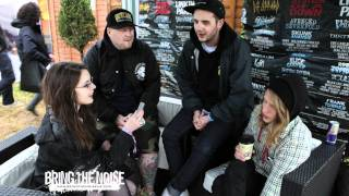 Bring The Noise UK - Your Demise Interviewed at Download Festival 2011