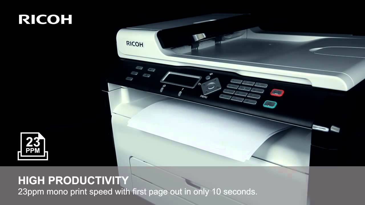 RICOH SP204SFN DRIVERS FOR WINDOWS XP