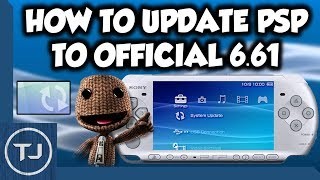 How To Update Any PSP To Official 6.61 In 2018!