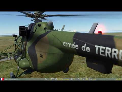 DCS WORLD MI8 Precision sling heavy load pipe 4800kg on  offshore (over load)