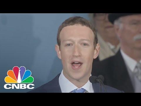 Mark Zuckerberg At Harvard: We Should Explore Ideas Like Universal Basic Income | CNBC