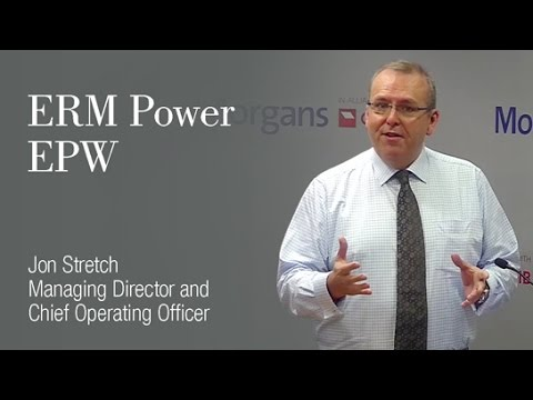 ERM Power (EPW):Jon Stretch, Managing Director and Chief Executive Officer