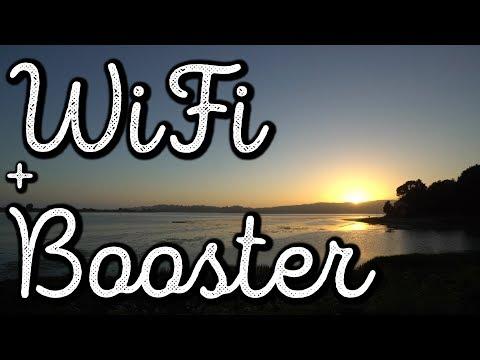 SIGNAL BOOSTER + CHEAP WiFi HOTSPOT 🚌 #VanLife Vlog: 236
