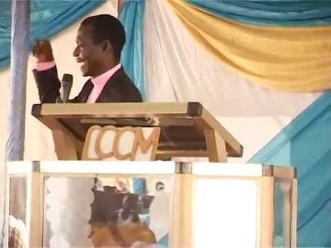 BISHOP ENOCH PREACHING AT HIS SON`S WEDDING