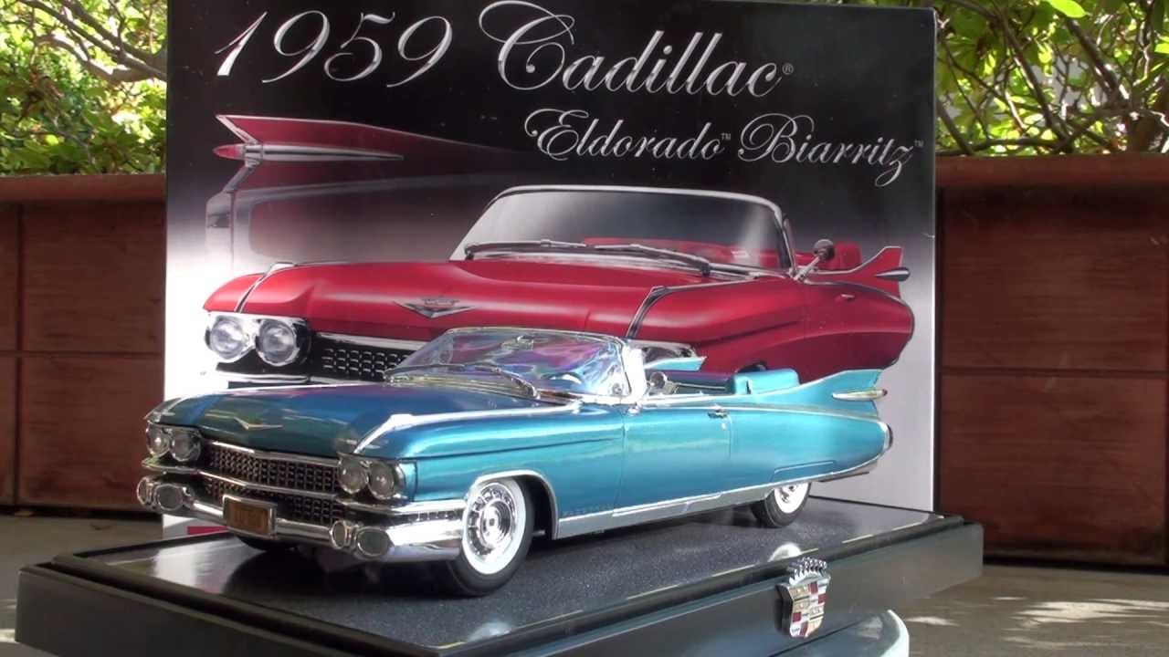 revell model kit 1959 cadillac eldorado biarritz convertible youtube. Black Bedroom Furniture Sets. Home Design Ideas