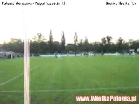 Polonia Warszawa Goals - against Pogon Szczecin