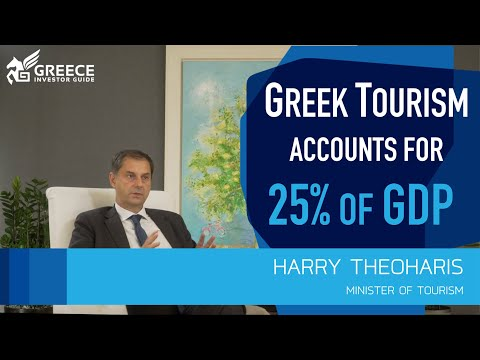 Harry Theoharis, Minister of Tourism - Greece Investor Guide (1)