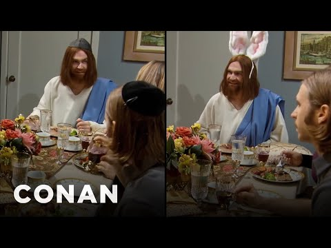 Jesus Was Double Booked This Weekend - CONAN on TBS