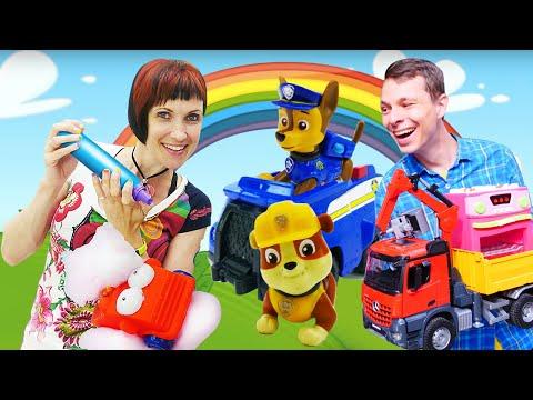 Видео: Кафе на дереве - Щенячий патруль и машинки лучшие серии - Видео для детей Капуки Кануки.