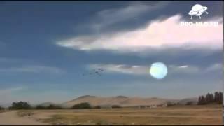 НЛО во время авиа шоу в Чили