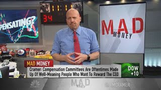 The problem with income inequality is not CEO pay  it39s everybody else39s Jim Cramer says