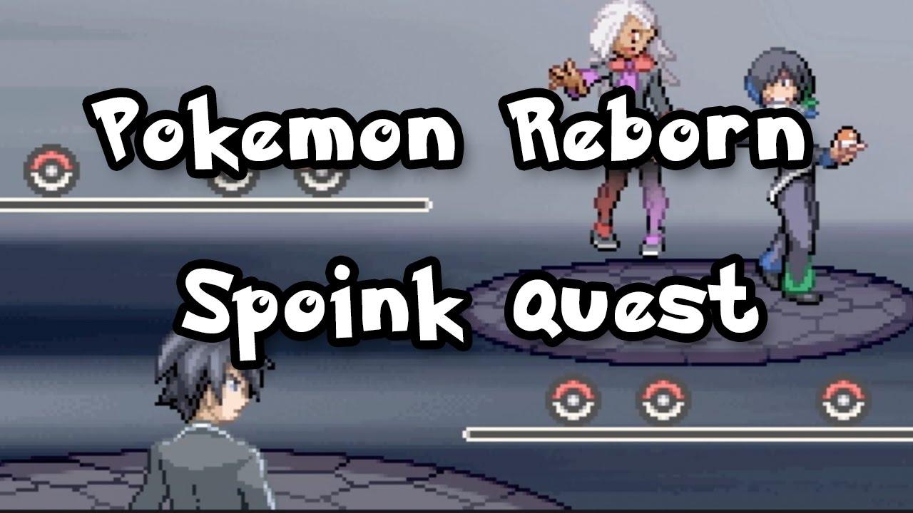 Pokemon Reborn Spoink Quest, Klefki (Ep 16) - YouTube