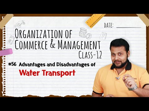 Advantages and Disadvantages of Water Transport - Business