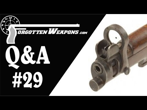 Q&A 29: Galilean Sights and American AKs