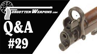 Q&A 29: Galilean Sights and American AKs