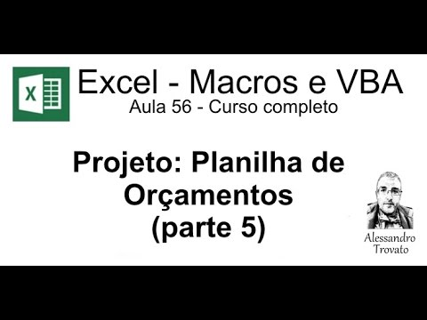 #208 - Excel VBA - VBE - Salvando as configurações personalizadas do editor from YouTube · Duration:  4 minutes 16 seconds