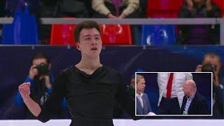 Дмитрий Алиев. Произвольная программа. Мужчины. За кадром. Rostelecom Cup