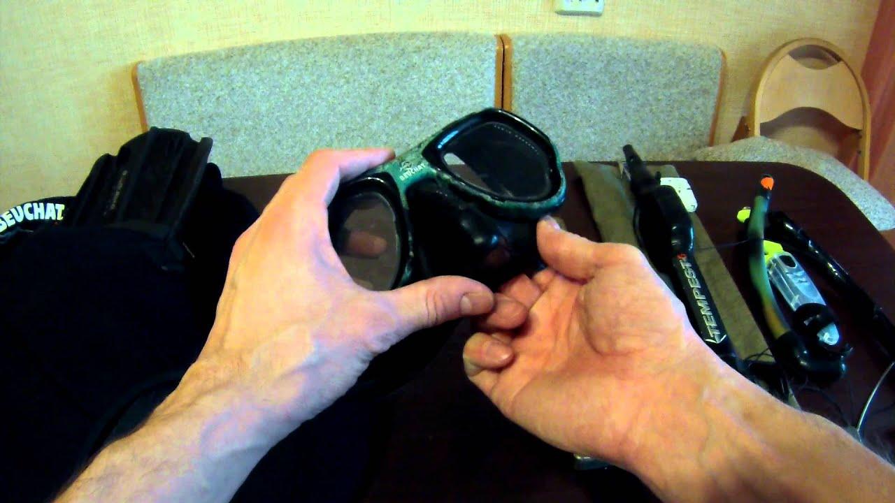Купил гидрокостюм и снаряжение для подводной охоты - YouTube