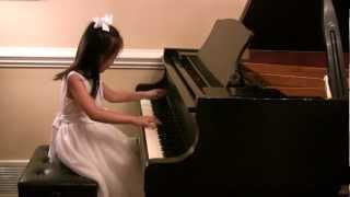 Chopin Waltz in A-flat Major, Op.69, No.1 - Marissa Liu (Age 6)
