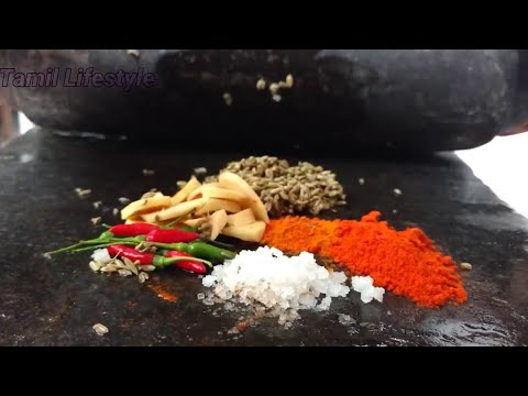 Village Style Mussel Fry - Tamil Lifestyle