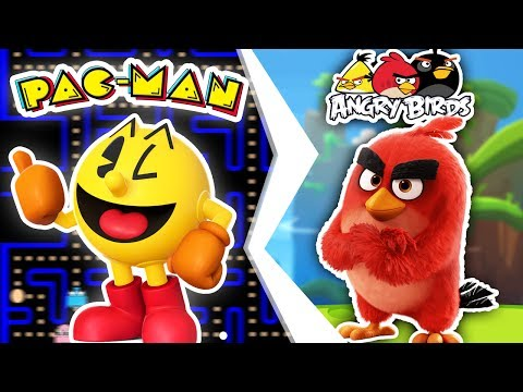 MINECRAFT | PACMAN vs THE ANGRY BIRDS