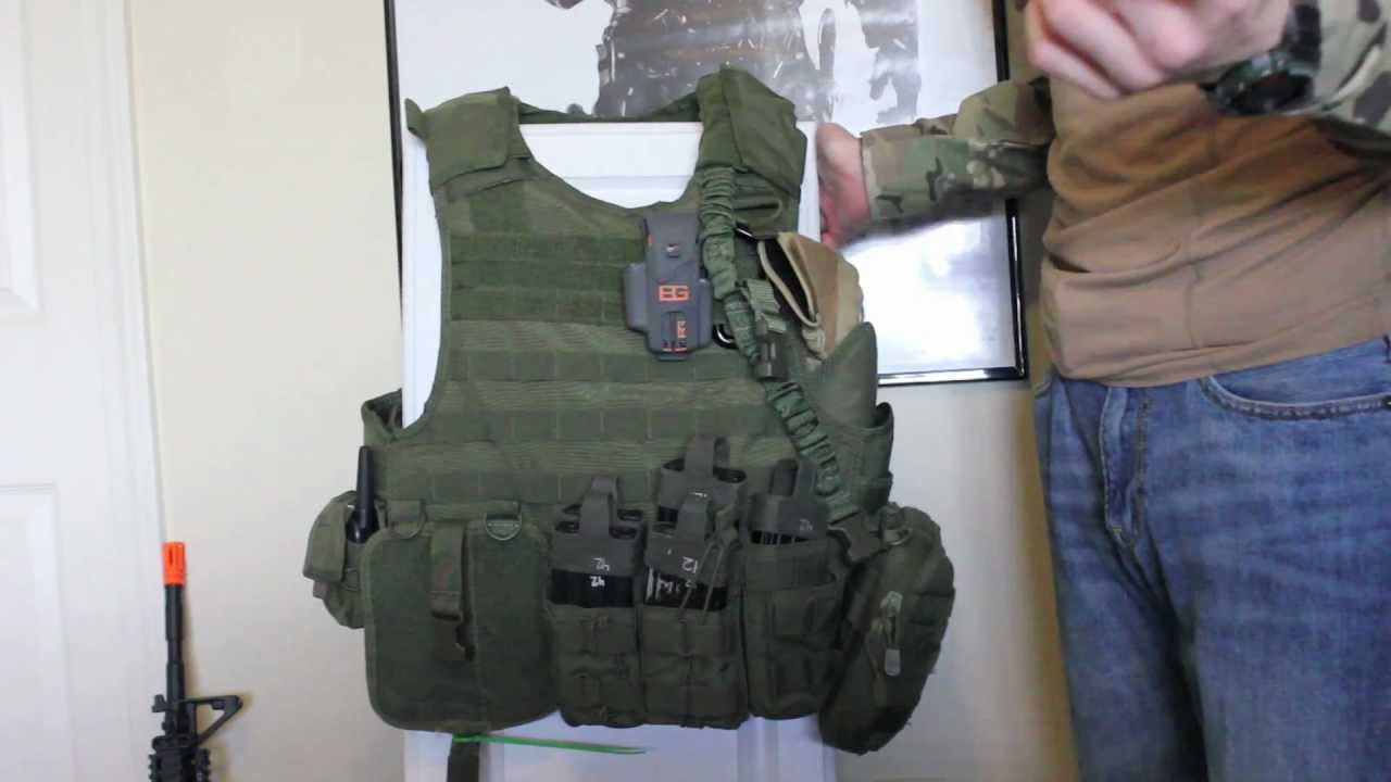 [HD]My Condor Quick Release Plate Carrier Set Up+Quick ...