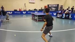Jian Li (2659) vs Zixiang  Meng (2521) - Open Singles (1/8)