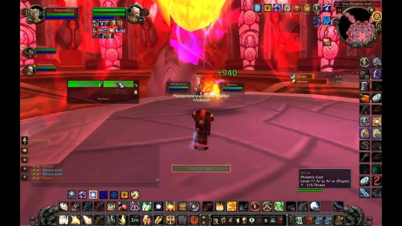 Tauri WoW Bug #3 - @Reborn Templest keep / The phoenix hall 1st boss