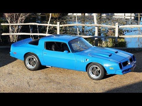 1976 Firebird Formula 400 For Sale - 1976 Pontiac Firebird 6.6 For Sale  Coupe Cocktail Blue